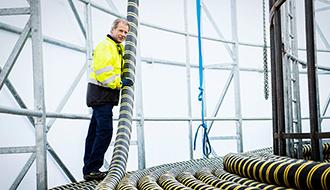 Da olieindustrien braste, gik kabelfabrikken i Norge nye veje
