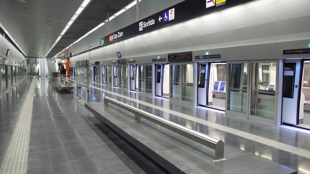 Barcelona metrolinje 9 opererer med MV Afumex kabler