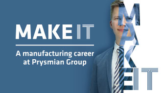 MAKE IT - fremstillingskarriere hos Prysmian