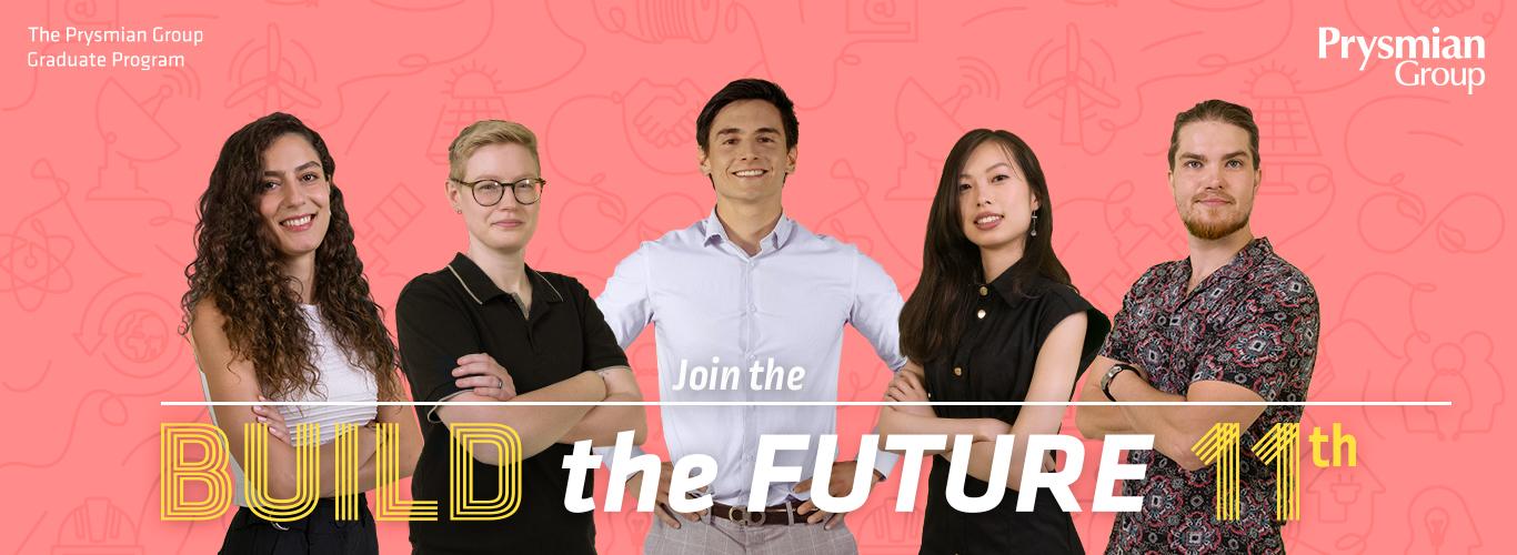 Søg ind til Prysmian Build-the-Future 2022 Graduate Program
