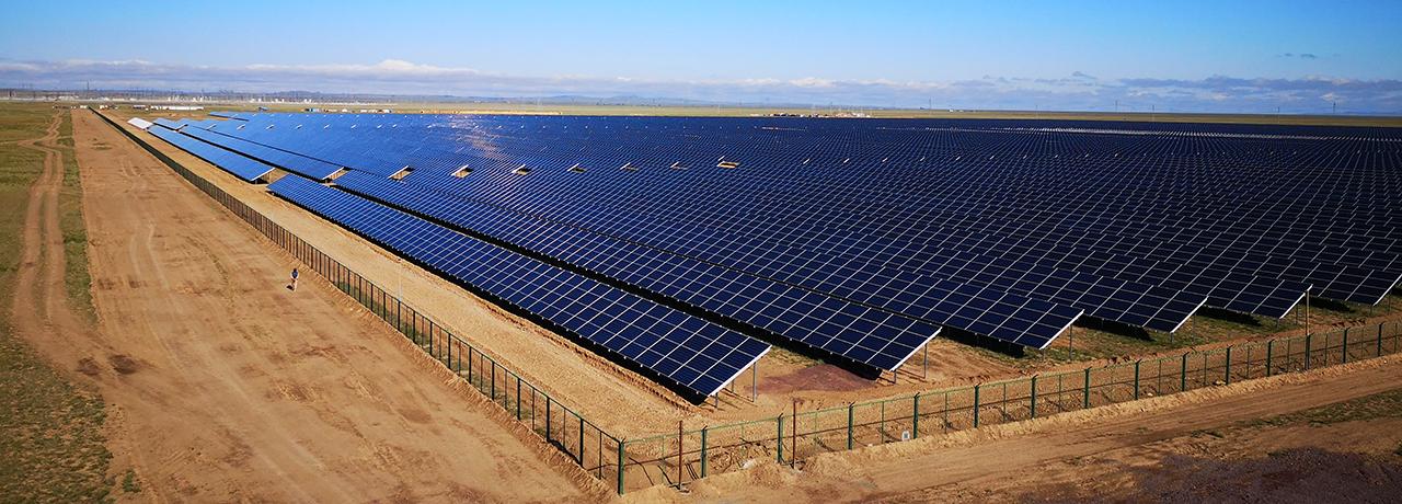 800 km fejlsikret TecSun kabler til solcellepark i Kasakhstan