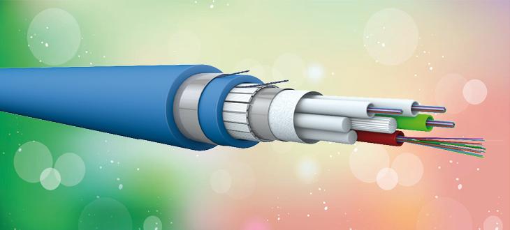 Loose tube fiberkabler LSZH